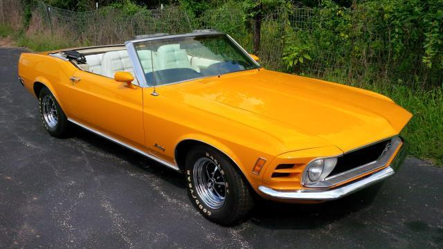 1970 ford mustang convertible for sale