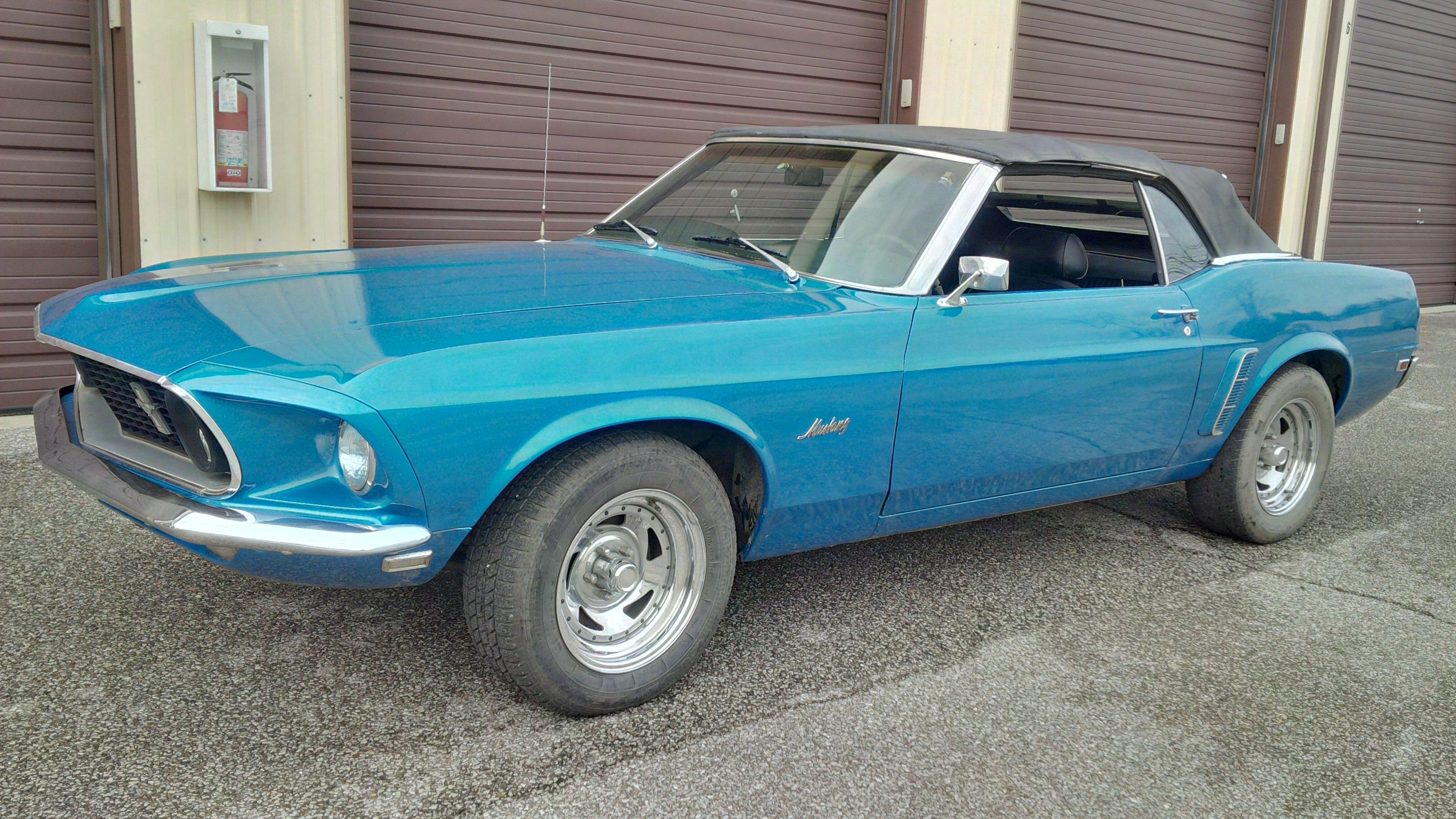 1969 Ford Mustang Convertible-6488 GSA SOLD - BenzaMotors