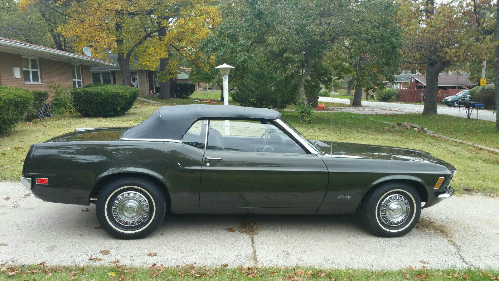 1970 Ford Mustang Convertible Bkjd Benzamotors