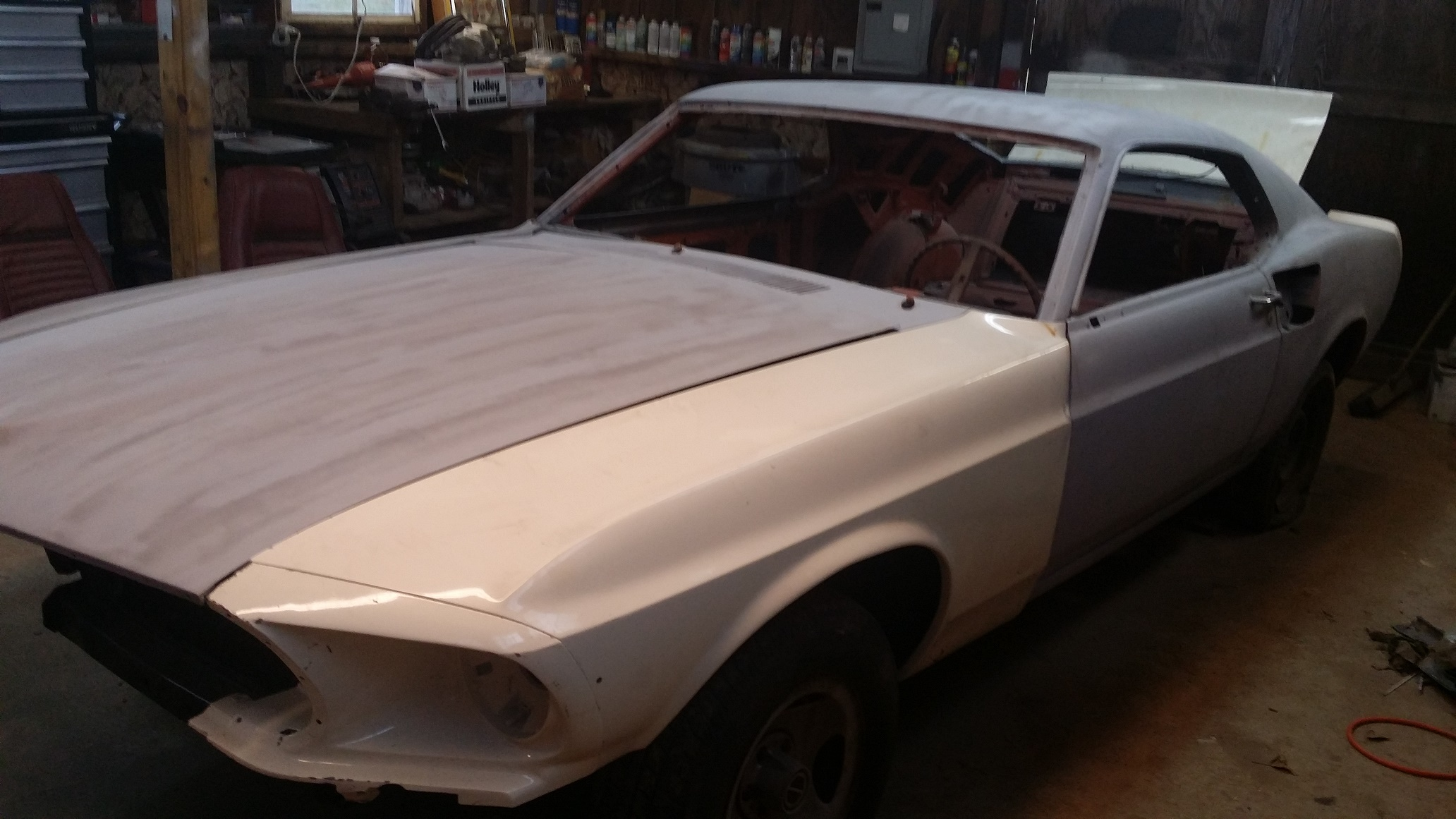 1969 Ford Mustang Mach 1 Project 5653 R Code 4 Spd We Benzamotors Fastback 428 Cj 24900